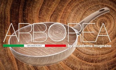 Padelle antiaderenti effetto legno di Accademia Mugnano