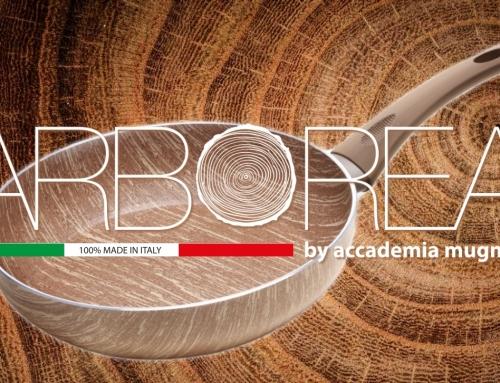 Il nuovo antiaderente effetto legno della linea ARBOREA