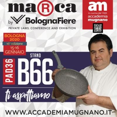 Locandina marca fiera di Bologna